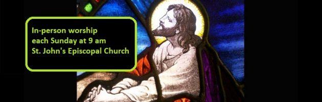 Sunday worship each Sunday at 9 am